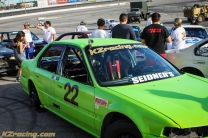 Green racing machine